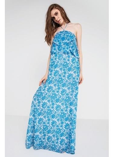4G Gizia Elbise Mavi